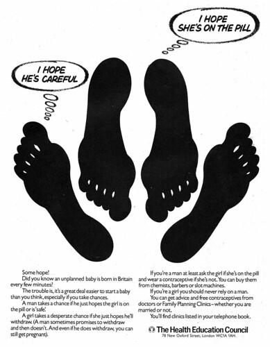Health Education Council Feet Ad 1977
