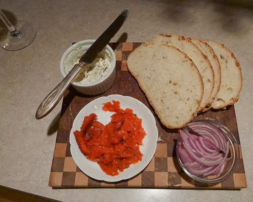 Making lox at home