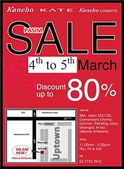 Sutra Putri Kanebo Warehouse Sale 4 - 5 Mar 2011