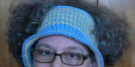 Parrot Tail stitch hat