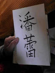 Pan Lei calligraphy