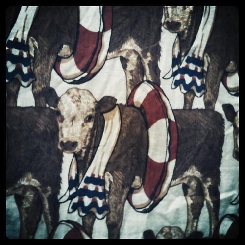 fabric pattern on a dress