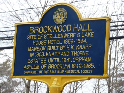 Brookwood Hall Marker