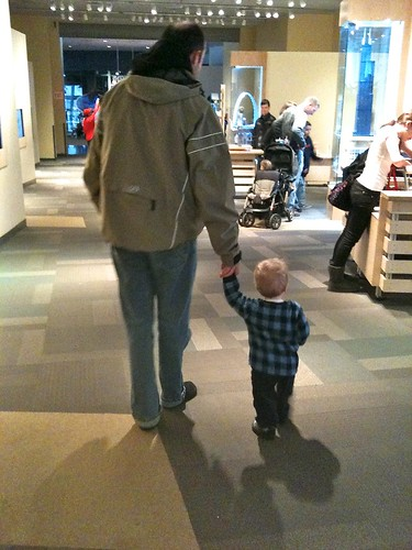 Walking at the Science Center