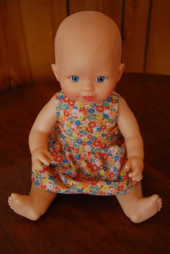 Baby's new dress.