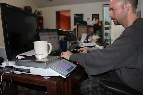 Elizabeth City - Ryan Working on Balances