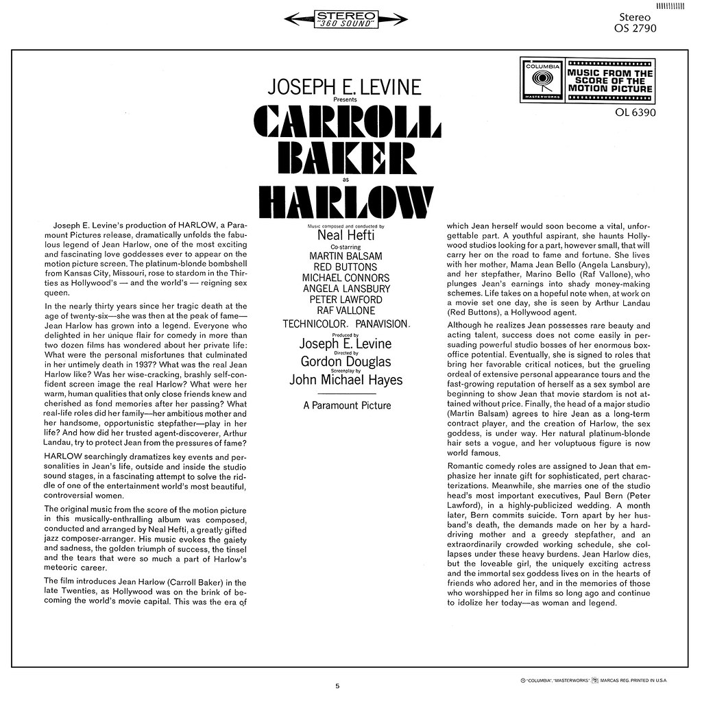 Neal Hefti - Harlow