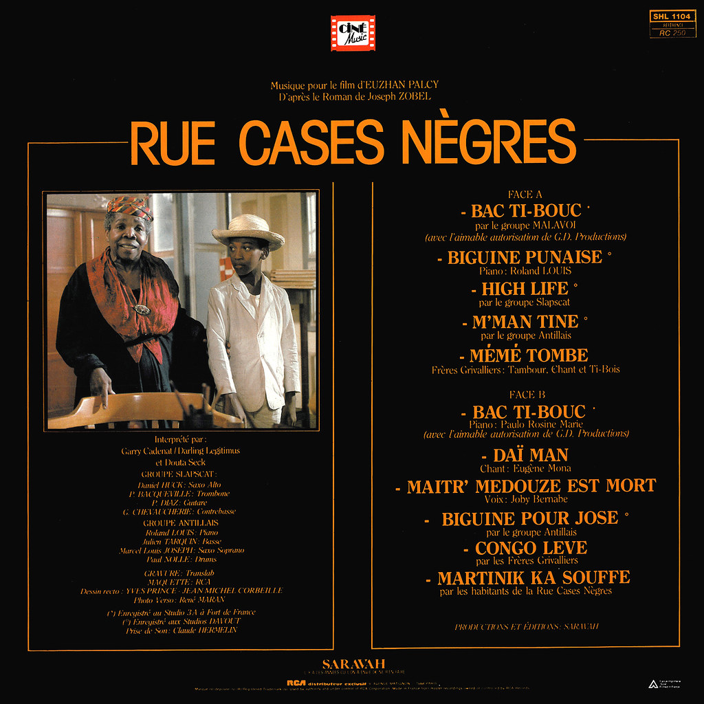 Various Artists - Rue Cases-Nègres