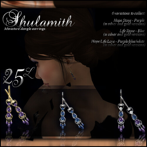 Shulamith Earrings Gacha Ad