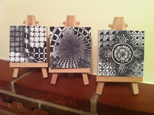Zentangle Mini Canvases Perfectly4med Artist At