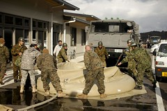 JSF-J deliver showers to local citizens