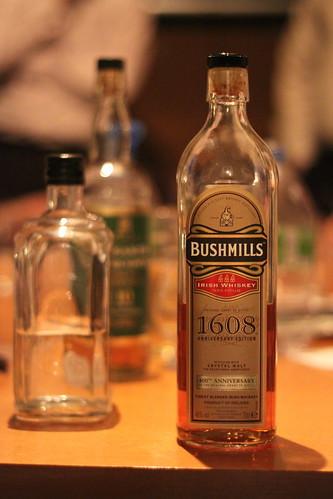 Bottle, Bushmills 1608