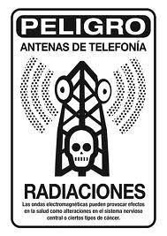 No a las antenas de telefonía móvil