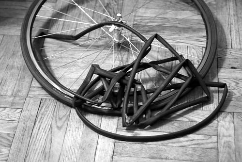 flat tire by ShmuliPhoto