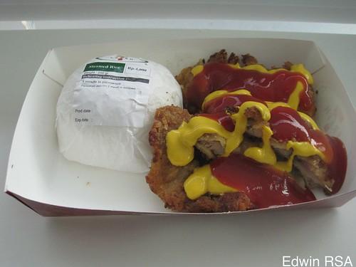 Chiken Katsu Rice