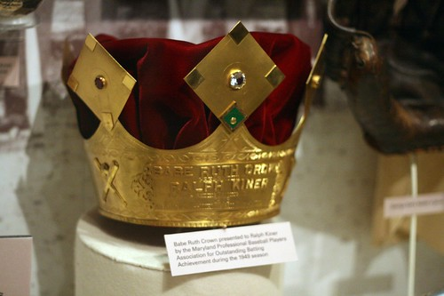 the Babe Ruth crown