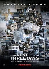 The next Three days poster movie