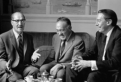 Groucho Marx, S.J. Perelman, and Kenneth Tynan
