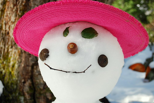Happy Thing: The Best Snow Lady Ever