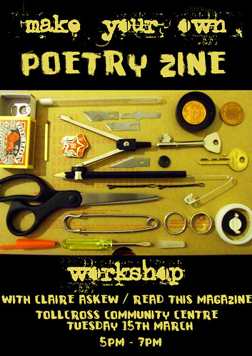 Make your own poetry zine: workshop