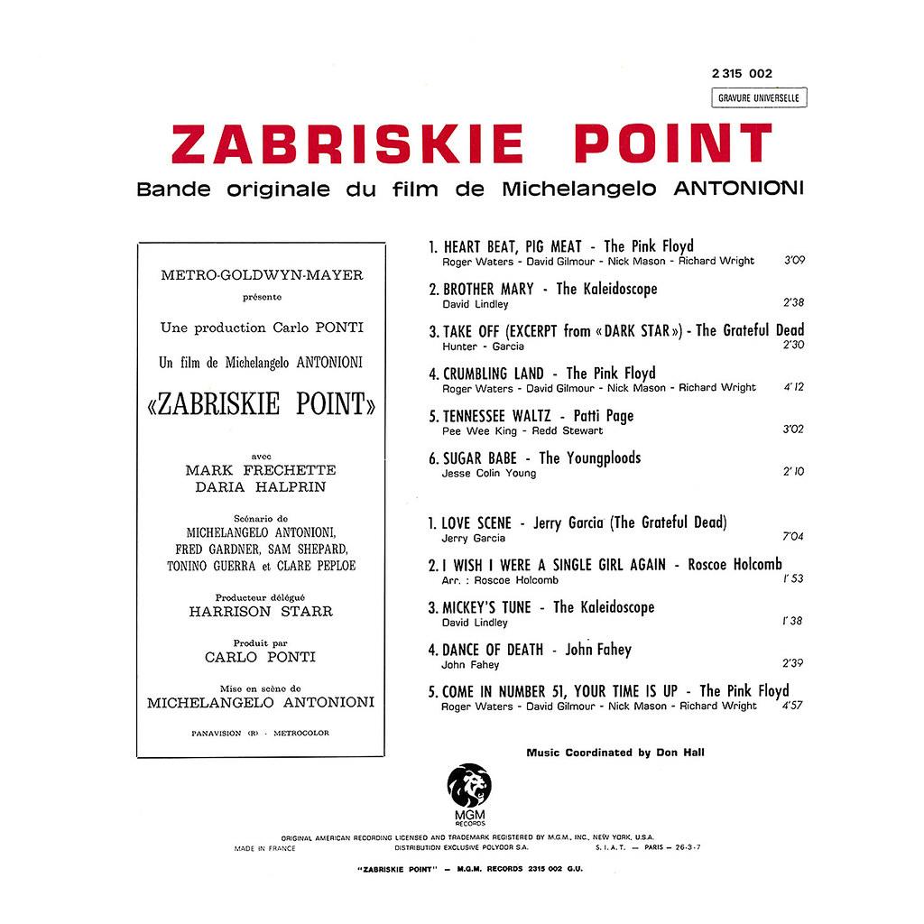 Pink Floyd - Zabriskie Point