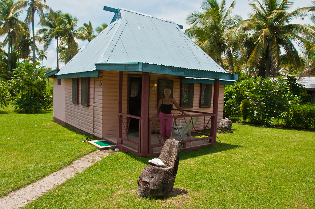 Our cabin at Nabua Lodge