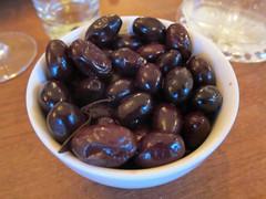 Dry Black Olives