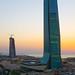 Al-Waqf Tower, Kuwait City, Dusk