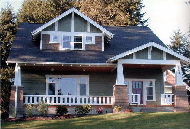 Newly Constructed Craftsman Bungalow