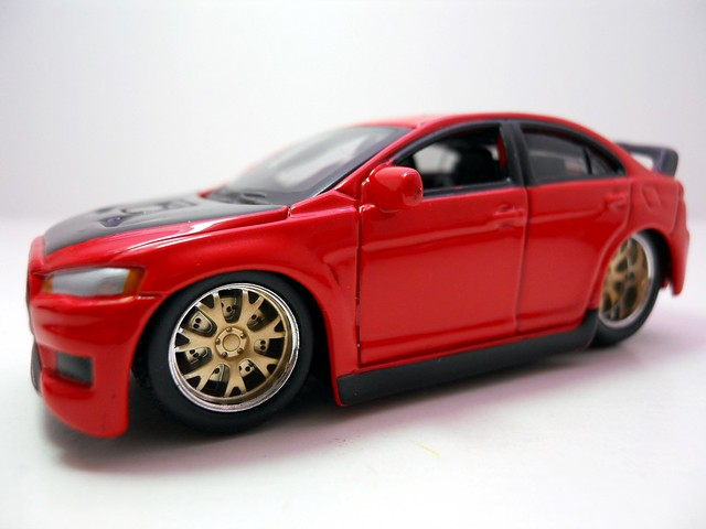 maisto custom shop fifty 5's mitsubishi lancer evolution (2)
