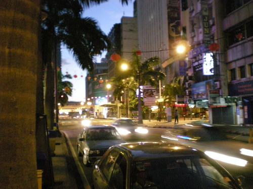 Bukit Bintang KL 7 a.m.