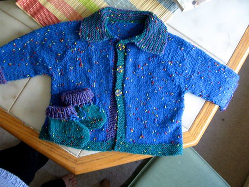 Buttons Baby Sweater 4d