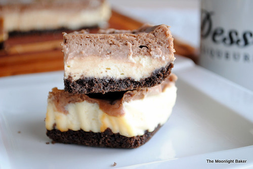 nutella cheesecake layer bars