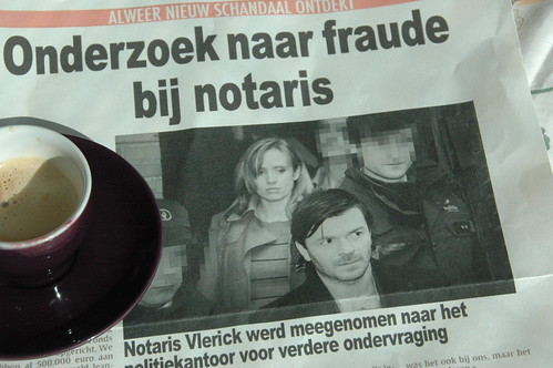 In de krant!