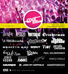 EXIT 2011 LINEUP