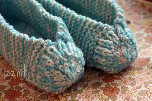 Pre Pom Pommed Granny Slippers