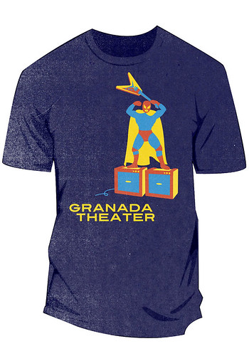 Tshirt Design for Granada Theater (Dallas, Tx)