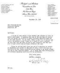 """""""some asshole is signing your name to stupid letters ..."""