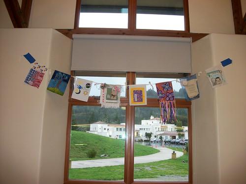 Prayer flags at An Artful Journey