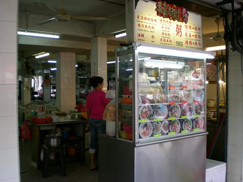Jalan Alor hawker stall