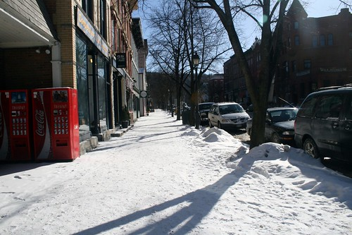 Cooperstown, midwinter