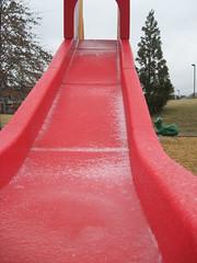 icy slide