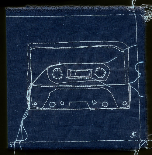 embroidered mixtape