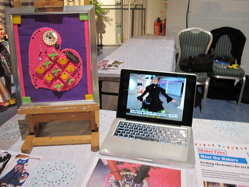 My stand at Maker Faire UK