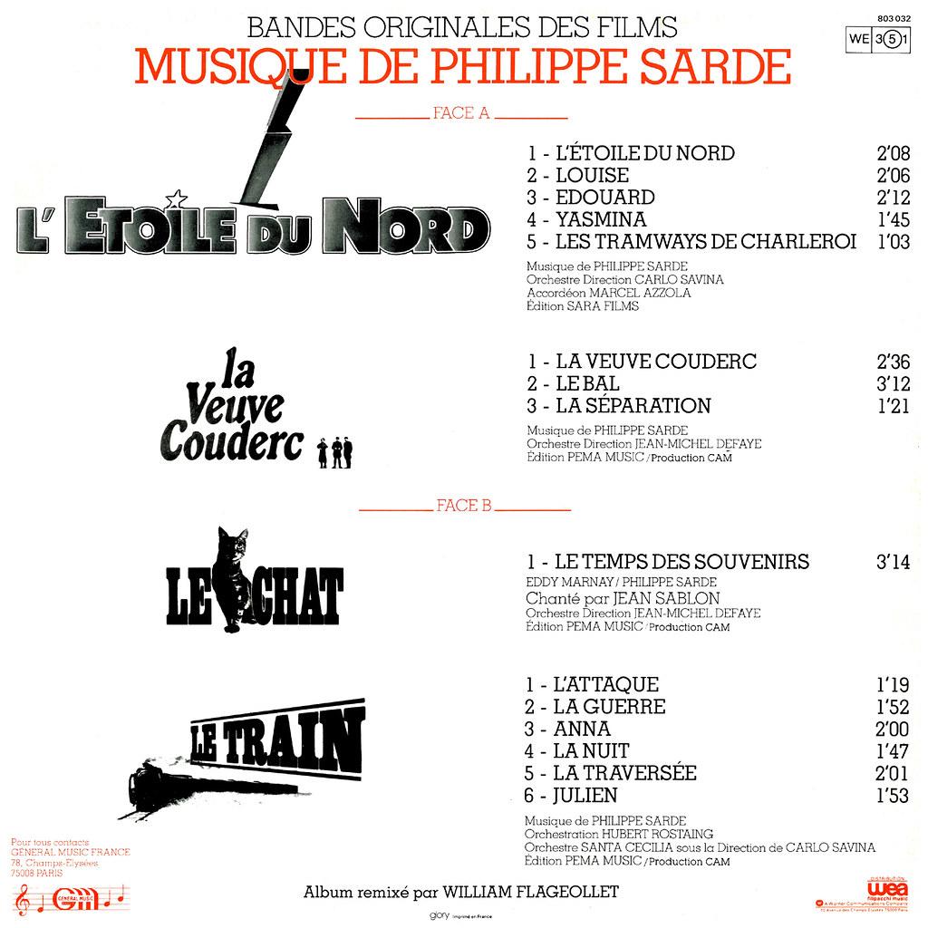 Philippe Sarde - L'étoile du nord