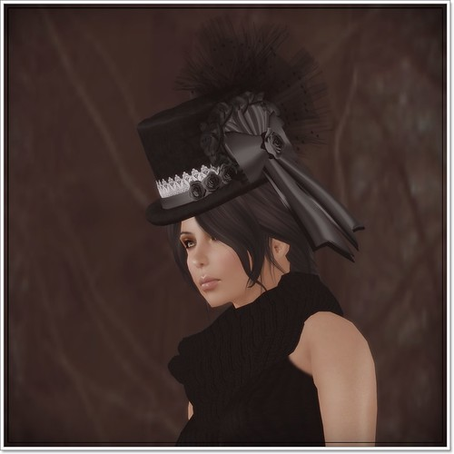 Hatpins - Lady Deanna Top Hat