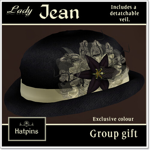 Hatpins - Lady Jean Group Gift