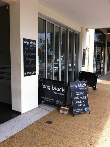 Long black cafe, dulwich hill