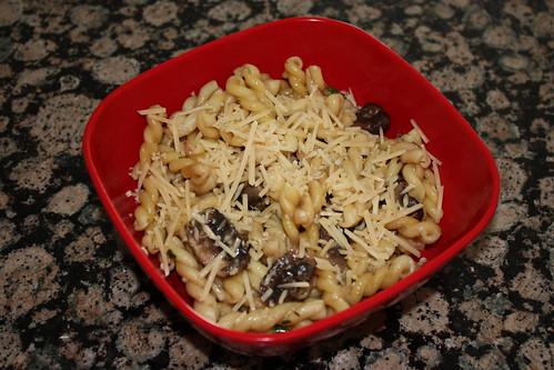 Mushroom, Lemon Pasta