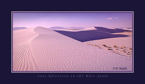 Late Afternoon on the White Sands